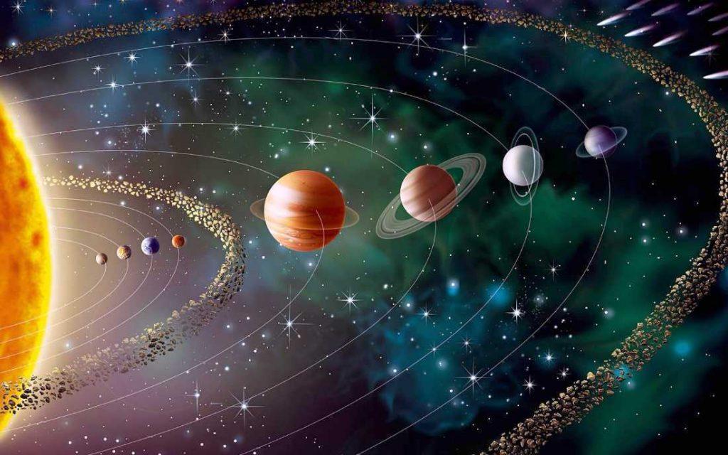 Solar system high resolution