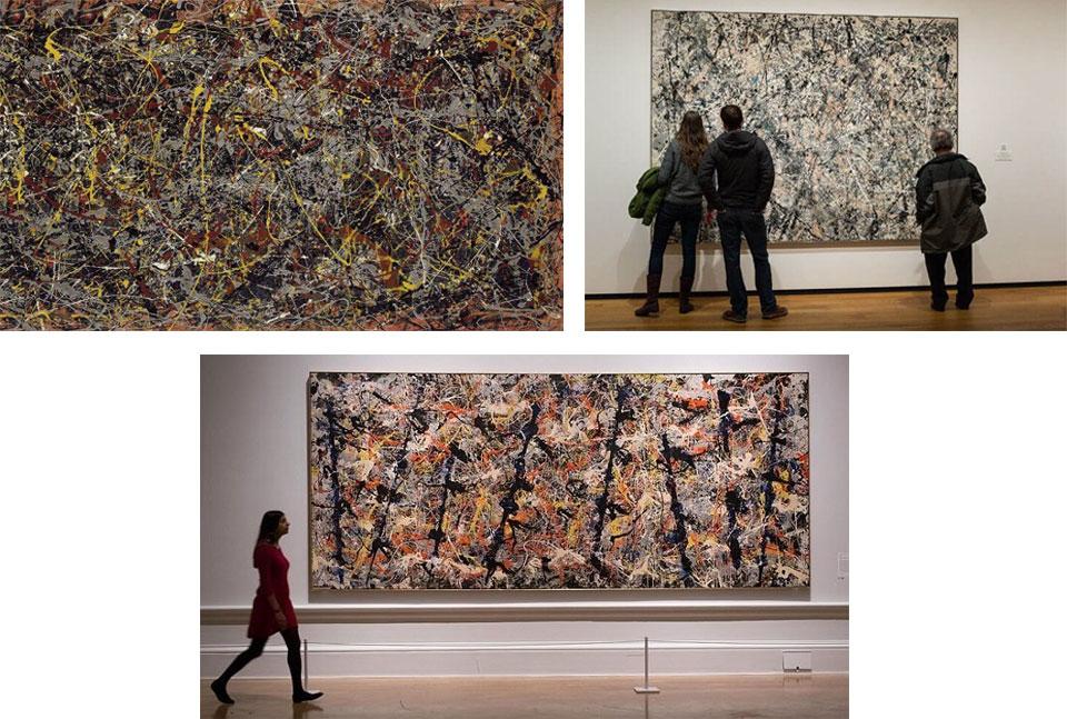Các tác phẩm của Jackson Pollock