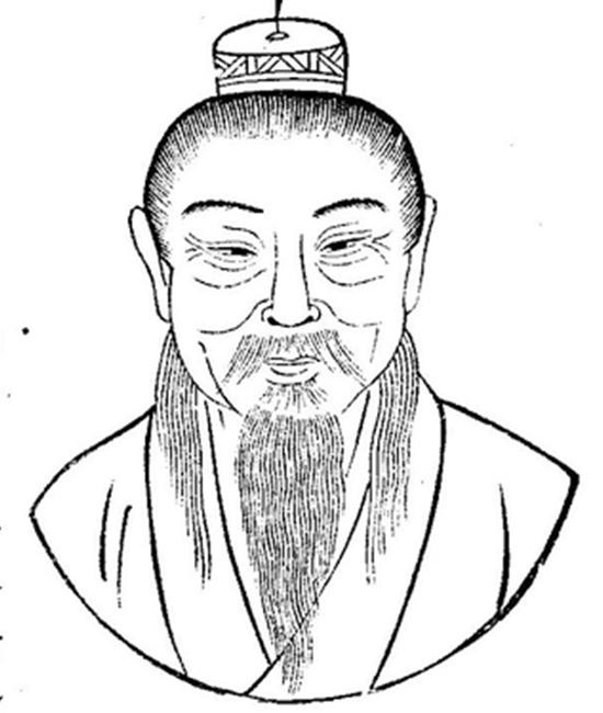 Chân dung Lưu Hướng. (Ảnh: Miền công cộng)