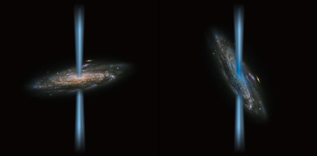 Hố đen có thể có đường hầm kết nối với không gian khác