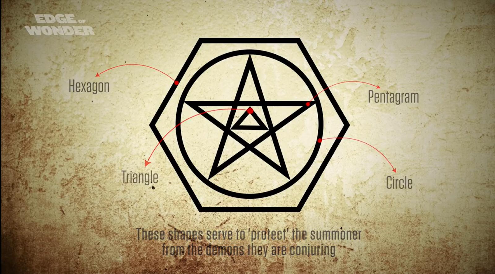 Người được gọi là 'Mẹ của bóng tối' sẽ đứng trong tâm hình lục giác này, triệu tập những con quỷ cổ xưa nhất mọi thời cổ đại để thực hiện nghi lễ hiến máu