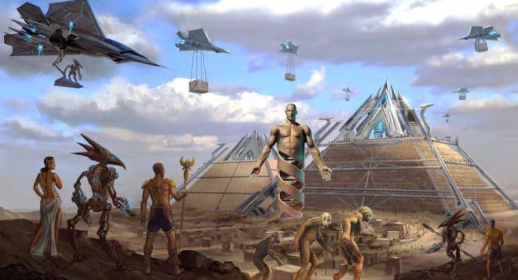 Kết quả hình ảnh cho pyramids aliens