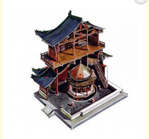 4. Chùa Long Hưng ở tỉnh Hồ Bắc. Được xây dựng vào thời Nam Tống.