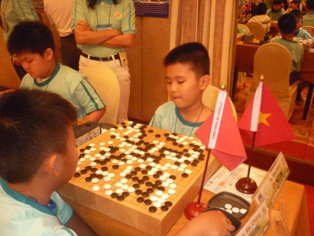 Giải đấu cờ vây quốc tế tại Hàn Quốc 2012