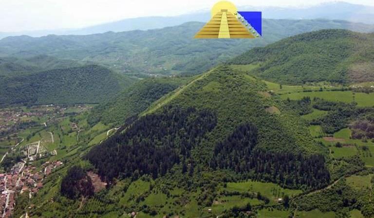 Kim tự tháp Mặt Trời Bosnia làmột công trình nhân tạo chứ không phải ngọn đồi bình thường. (Ảnh minh họa quaGoogle Plus)